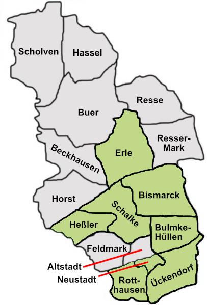 Bauverein Gelsenkirchen E G Wohnungen Gelsenkirchen
